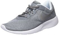 Nike Kids Tanjun (GS) Running Shoe Cool grey/metallic silver