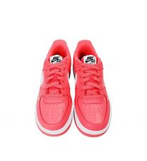 Nike Air Force 1 Hot Punch/White-White (Big Kid)