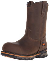 Timberland PRO Men's AG Boss Alloy Safety-Toe Pull-On Boot