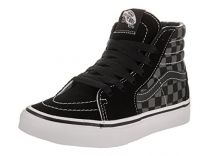 Vans Kids Sk8-Hi (Checkerboard) Skate Shoe