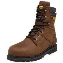 """Caterpillar Men's Salvo 8"""" Waterproof Steel Toe Boot"""