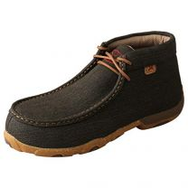 Twisted X Women's Chukka Breathable Handcrafted Lace-Up Cowgirl Driving Moccasins