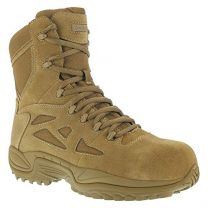 Reebok Womens Coyote Leather Tactical Boots Rapid Response LaceUp CT