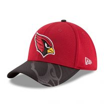 Arizona Cardinals New Era On-Field Sideline 39THIRTY Flex Fit Hat / Cap