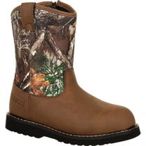 Rocky Big Kids' Lil Ropers Outdoor Boot Camouflage